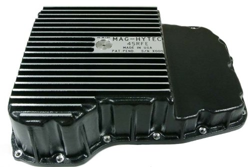 Mag-Hytec Transmission Pan 1999-2012 compatible with Dodge / Jeep Truck & SUV equipped with 45RFE / 545RFE Transmission