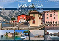 Lake Garda Mediterranean oasis in Northern Italy (Wall Calendar 2022 DIN A4 Landscape): The jewel of Italian lakes with picturesque fishing villages and majestic mountains. (Monthly calendar, 14 pages )