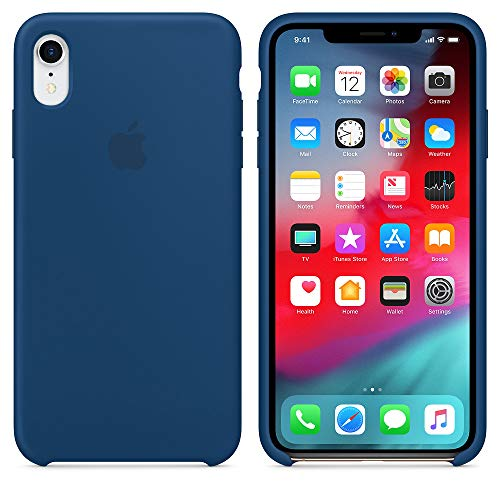 AW 2019 Estate Ultima Custodia in Silicone per iPhoneXR 6.1' (iPhone XR, Blu Orizzonte)