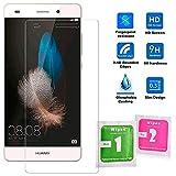 OcioDual Protector de Pantalla para Huawei P8 Lite ALE-L01 Cristal Templado Premium 9H 2.5D Vidrio Plano Anti Golpes Arañazos