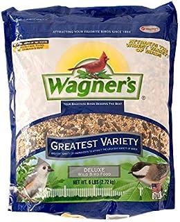 Wagner's 62034 Greatest Variety Blend Wild Bird Food, 6-Pound Bag