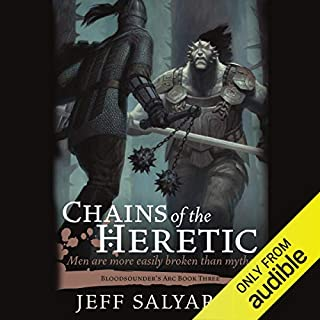 Chains of the Heretic audiobook cover art