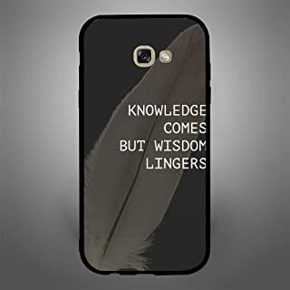 Samsung Galaxy A7 2017 Knowledge come but Wisdom lingers, Zoot Designer Phone Covers