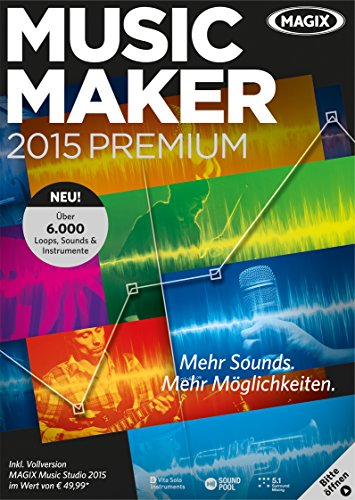 MAGIX Music Maker 2015 Premium [Download]