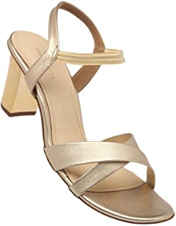 Haute Curry by Shoppers Stop Womens Slipon Heels (Gold_39)
