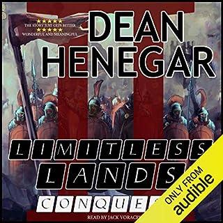 Page de couverture de Limitless Lands, Book 2: Conquest (A LitRPG Adventure)