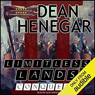 Limitless Lands, Book 2: Conquest (A LitRPG Adventure) cover art