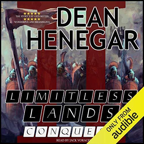 Couverture de Limitless Lands, Book 2: Conquest (A LitRPG Adventure)