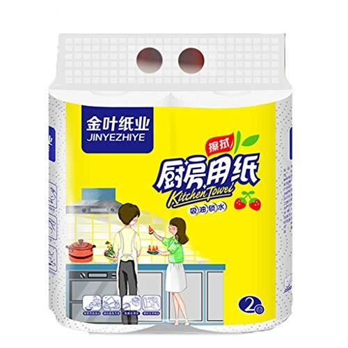 2 Rollen Toilettenpapier // Klopapier,Papier Drucken Interessant Toilettenpapier Tabelle Küche Papier Handtuch Vielfach (Mehrfarbig)