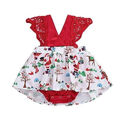 Toddler Baby Girl 2Pcs Romper + Headband Floral...