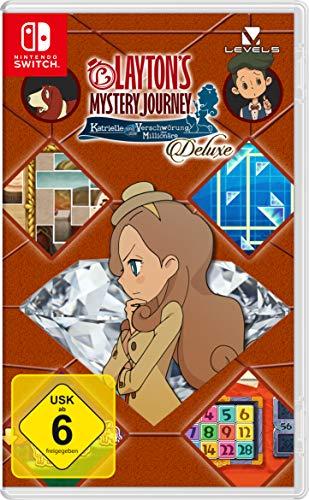 Layton`s Mystery Journey: Katrielle und die Verschwörung der Millionäre – Deluxe - [Nintendo Switch]