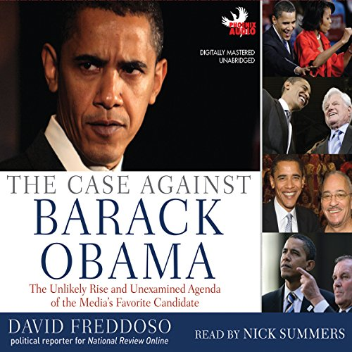 The Case Against Barack Obama audiobook cover art