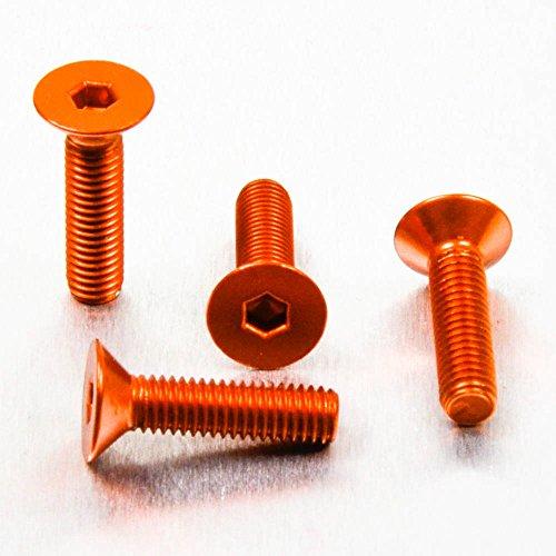 Kit Visserie Bulle Aluminium / Inox KTM 125 Duke (orange)