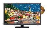 Sceptre E246BD-SMQK 24.0' 720p TV DVD Combination, True Black (2017)