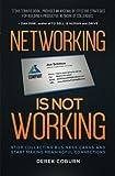 Networking Is Not Working by Derek Coburn