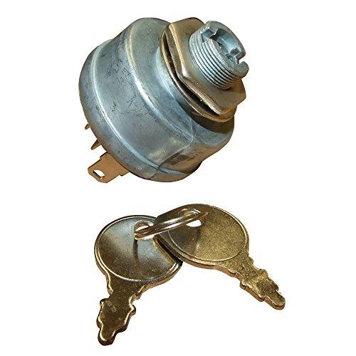 Interruptor de encendido y llaves para algunos tractores Countax Ride On cortacésped
