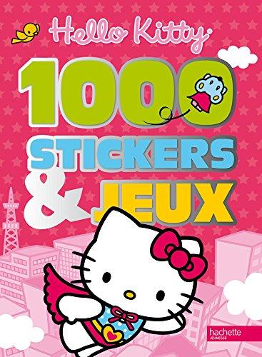 1 000 Stickers et jeux Hello Kitty