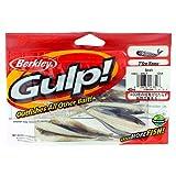 Berkley Gulp! Minnow Soft Fishing Bait Smelt 3' - Qty. 12