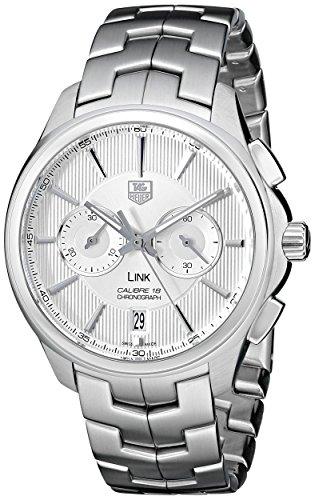 TAG Heuer CAT2111.BA0959 - Reloj de Pulsera Hombre, Acero Inoxidable, Color Plata