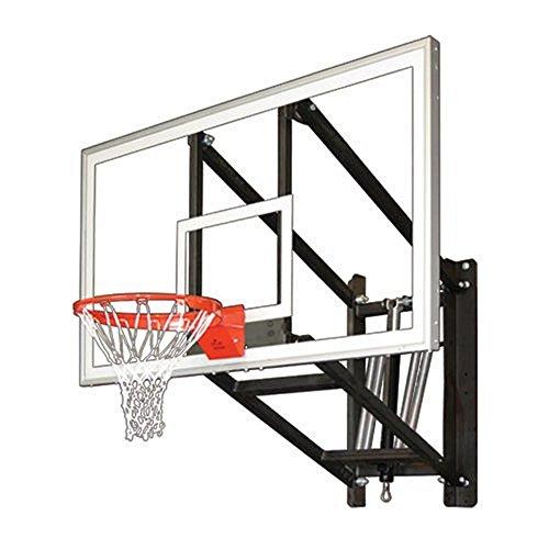 First Team WALLMONSTER ARENA Wall Mounted Adjustable Basketball Hoop