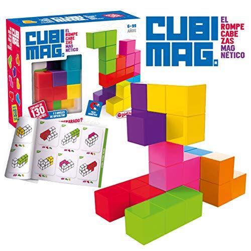 Ldilo Infantiles, nios, Puzzles 3D, Juegos magnticos de Viaje, Juguetes educativos, Multicolor (CUBIMAGes un increble Rompecabezas ma)