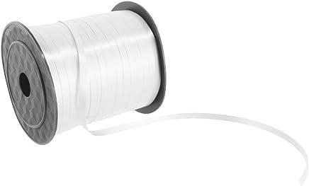 225m Ruban Attache Ballon Décoration pour Mariage Fête Anniversaire - Blanc