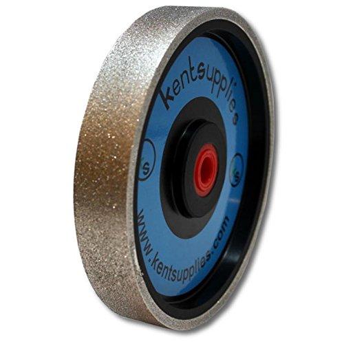 Grit 80 Kent 6' Diam x 1' Width Diamond Lapidary Jewelry Grinding Wheel