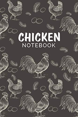 Chicken Notebook: Chicken Themed Notebook for Writing Notes, To Do Lists - Cute Gift for Teen Girls, Women and Chicken Lovers