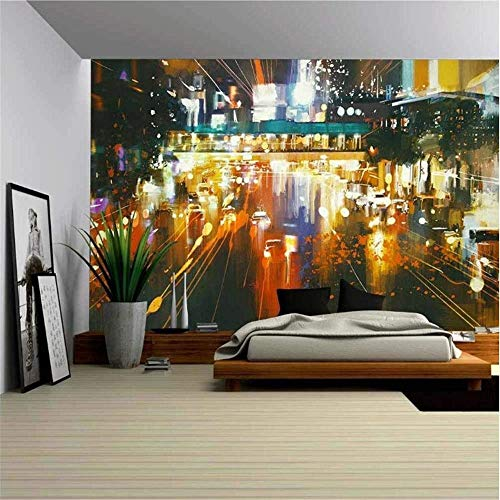 AIPUTAO1 Papier Peint Mural 3D, Papier Peint 3D Papier Peint intissé Non tissé Papier Peint en HD Papier Peint Mural détachable Grand Papier Peint Auto-adhésif, 225 * 384cm