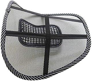 Broadroot Almohada de la Cintura Cojín de la Silla de Malla Lumbar Back Brace Support Oficina Home Car Seat Chair Cushion