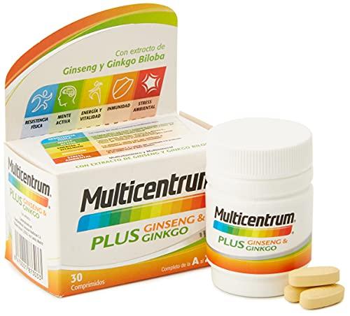 Multicentrum Plus Ginseng & Ginkgo,...