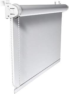 comprar comparacion Victoria M. Klemmfix - Estor Opaco para Ventana (fijación sin taladrar) tamaño: 120 x 150 cm Blanco