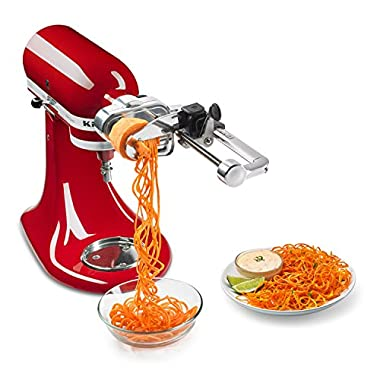 Multifunctional Spiral Slicer Plus Attachment with Peel, Core and Slice, For All Kitchen Stand Mixer