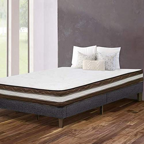 Fantastic Deal! Orthosleep Products 8 Inch Euro Top Firm Mattress Double Side Size King