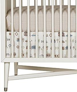 Dwell Studio Canyon Percale Crib Skirt