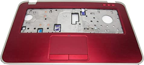 GAOCHENG Laptop Palmrest for DELL Inspiron 15Z 5523 P26F red with touchpad 6M.4VQCS.002 0RM4GT RM4GT Upper case New and Original