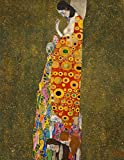 Hope, Gustav Klimt. Blank journal: 150 blank pages, 8,5x11 inch (21.59 x 27.94 cm) Soft cover