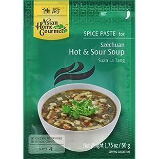 Asian Home Gourmet Szechuan Hot and Sour Soup Suan La Tang