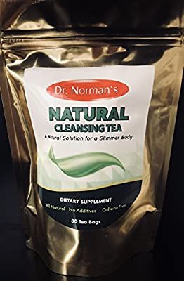 Natural Cleansing Tea Dr. Normans by Dr Normans Natural Plaza