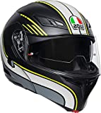 Casco Compact ST AGV Multi PLK Boston Matt Black/Grey/Yellow M