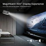 Zoom IMG-2 apeman mini proiettore supporto 1080p