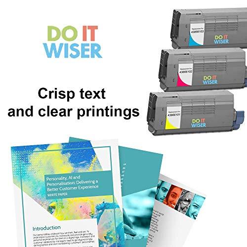 Do it Wiser Compatible Toner Cartridge Replacement for Oki C710 C710DN C710DTN C710N C711n C711DN C711DTN C711CDTN Magenta Photo #4