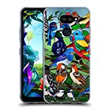 Official Suzan Lind Stained Glass Birds Soft Gel Case