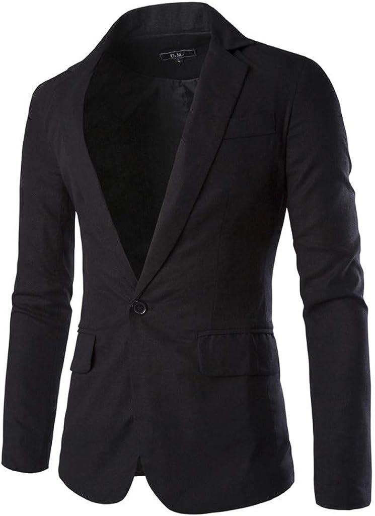 Blazer Mens GREFER Modern Regular Fit Stretch Suit Formal Elegant Single Breasted Tuxedos Plus Size