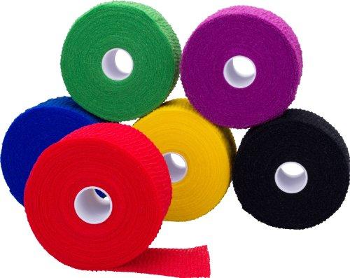 Höga Haft color kohäsive, elastische Fixierbinde in 5 Farben, 10 cm x 20 m gedehnt, unsortierte Farben