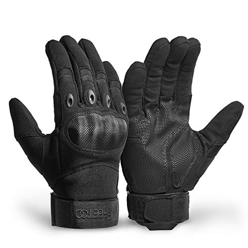 FREETOO Motorradhandschuhe Herren Touchscreen Vollfinger Taktische Handschuhe für Paintball Airsoft Militär, Motocross-Handschuhe Outdoor-Sport Klettern Camping Jagd Radfahren