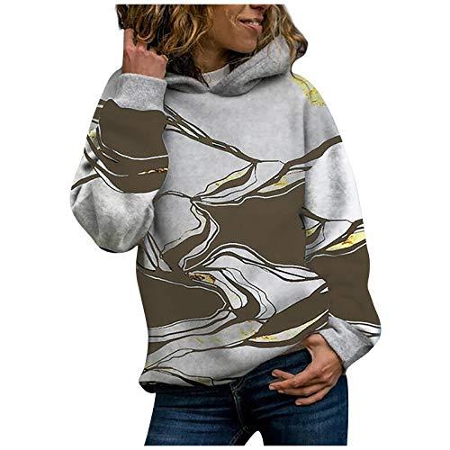 bobo4818 Shirt Mode Damen Beiläufig O-Ausschnitt lose Kurzarm Drucken Sie T-Shirt...