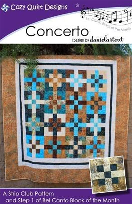 Cozy Quilt Designs CQD01201 Concerto Step 1 of Bel Canto Bom Pattern