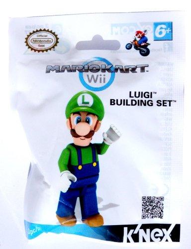 Mario Kart Wii KNEX Building Set #38027 Luigi by Nintendo (English Manual)