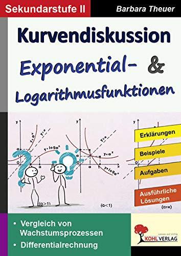 Kurvendiskussion / Exponential- & Logarithmusfunktionen: Kopiervorlagen zum Einsatz in der SEK II
